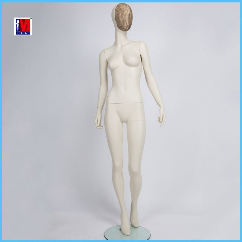 Gloss white realistic sexy female mannequin display used