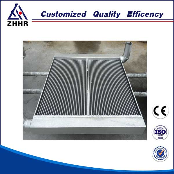 fin tube heat exchanger/aluminum plate and bar fin transmission system
