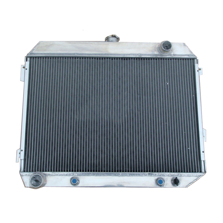 4Row Radiator For Dodge Challenger Charger Coronet 68-74 Plymouth Barracuda 73