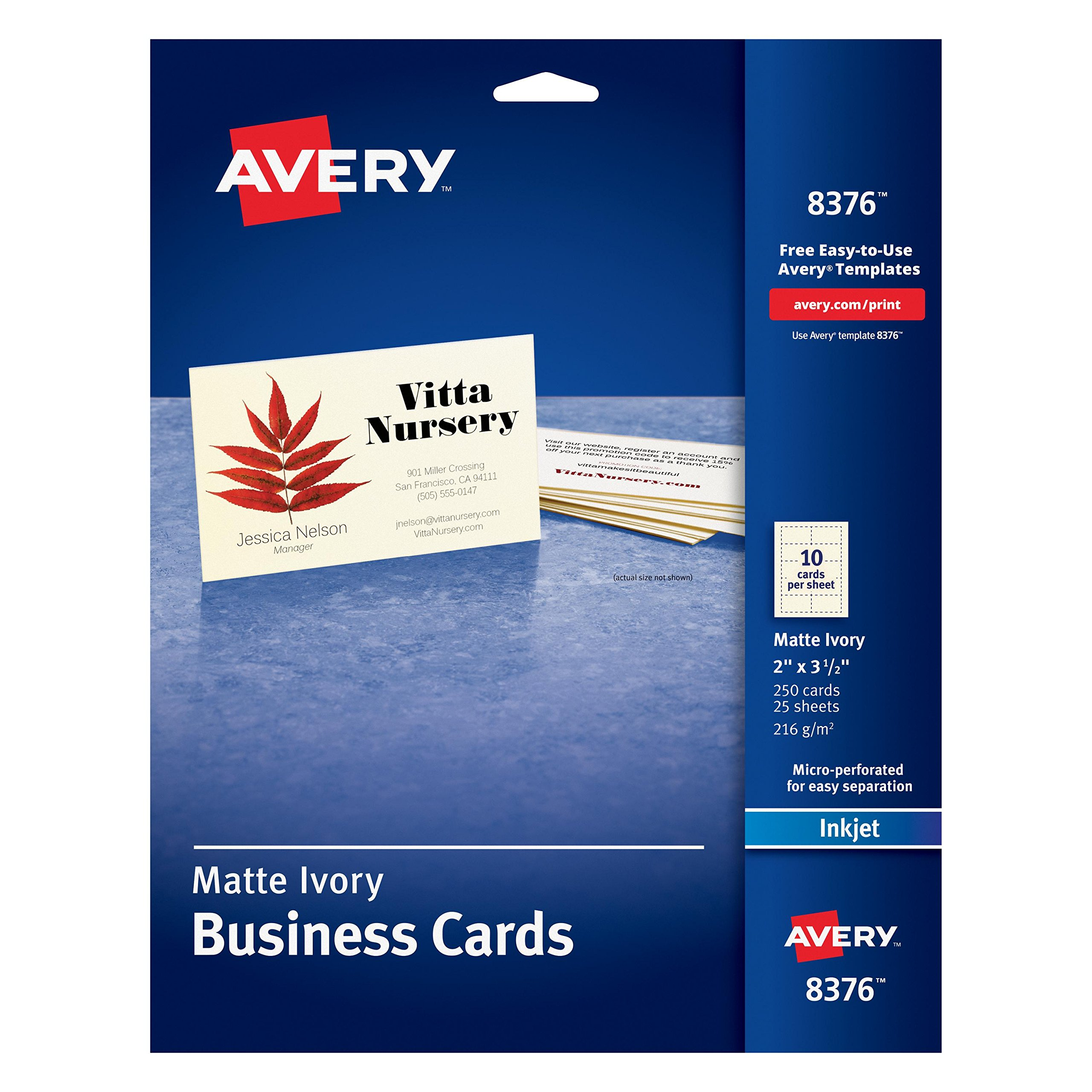 Cheap momo business cards find momo business cards deals on line at get quotations avery 2 x 35 ink jet business cards colourmoves