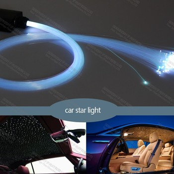 12v car roof star ceiling spot fiber optic light kits with 175pcs 2m