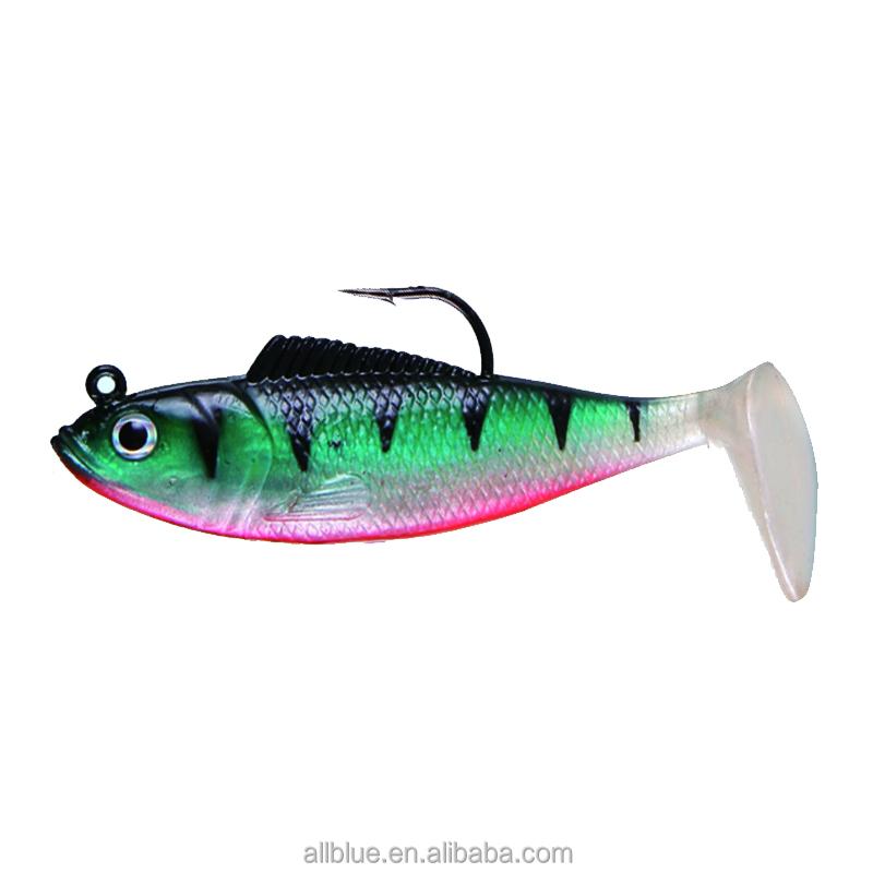 5PCS Lot Metal VIB Blade Fishing Lures Crankbaits Bass Hook Tackle 5cm 1 NTBE
