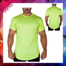 bamboo custom printed fitness t-shirts wholesale