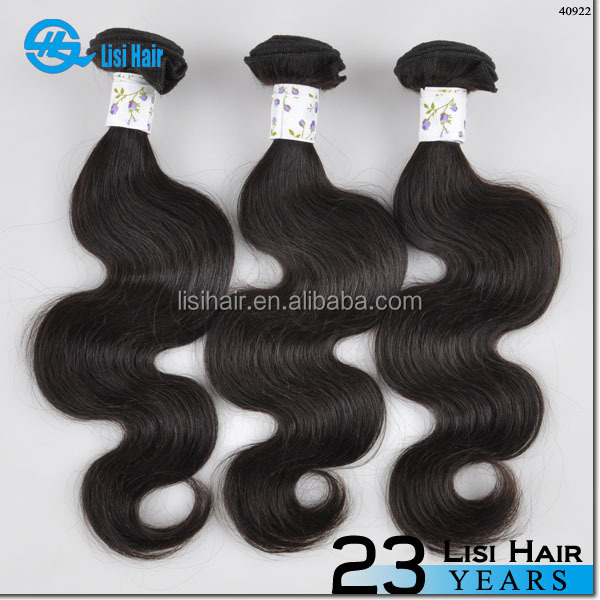 2015 Hot Top Sellers Fast Selling Product Full Cuticle One Donor jackson wave hair extensions