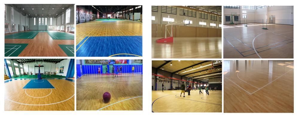 बुद्धिमान खेल फर्श फुटसल के निर्माण के लिए floorin मंजिल मैट