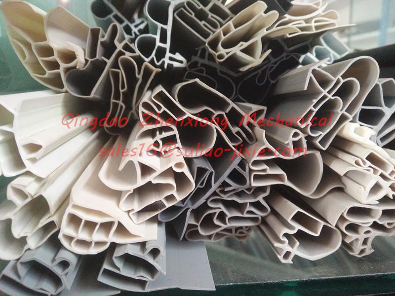 Refrigerator soft PVC profile door gasket products