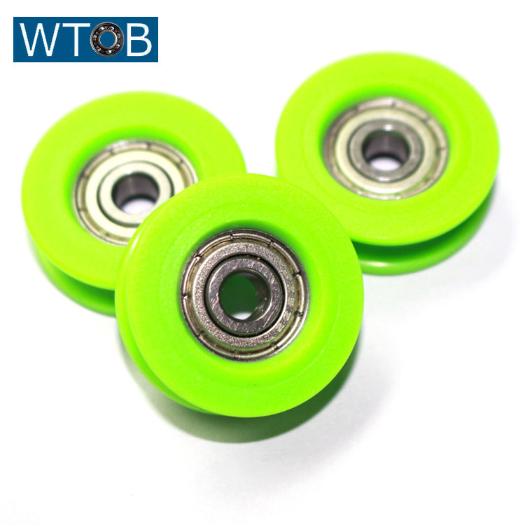 Customized oem office machine high demand products pulley wheels for sliding doors in china