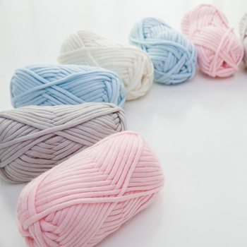 YarnCrafts Durable Crochet Thread knitting Thick Wool Nylon Blended yarn for Cardigan Scarf Hat