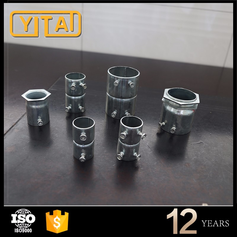 Made of high quality pipes emt conduit connector