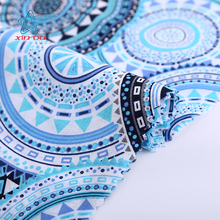 Hot sale products fashion fabrics cloth material cotton prints fabric