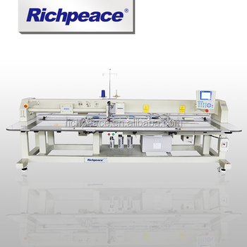 Richpeace Automatic Single Head Bridge Type Sewing Machine for Winter Jacket