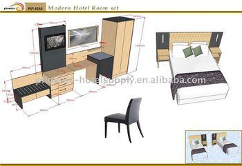 Modern Hotel Room Set Resort