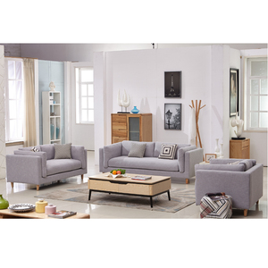 Famous Scandinavian style sofa set designs fabric couches set for living  room furniture