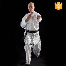 Twilled fabric white karate uniform