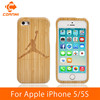 CORNMI For iPhone 5 5S SE Bamboo wooden new design hard cover back housing