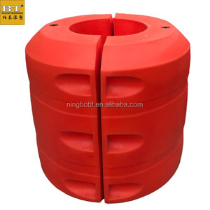 FT80110-50 foam filled hdpe floats for dredging pipe floater