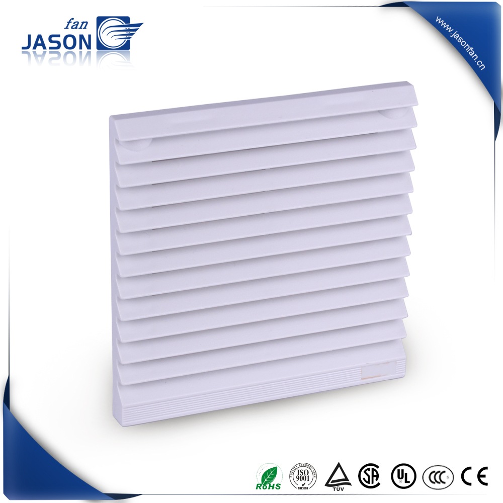 Grill with filter mat IP54 150 X 150 RAL 7035/ Filter fan 55 m3/h /Filter fan 230 m3/h IP54