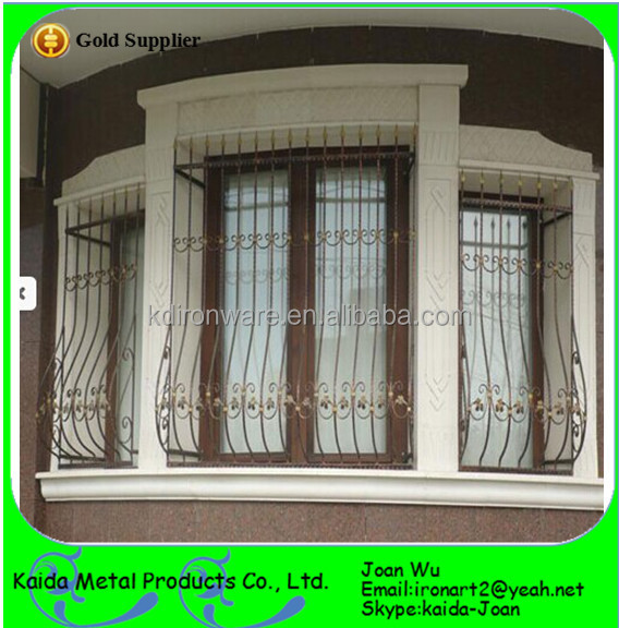 Metal window grills design for sliding windows buy for Window design catalogue