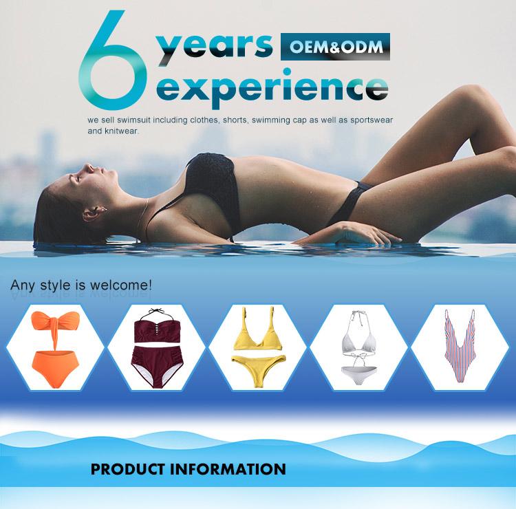 2019 Oem แฟชั่นผู้หญิงชุดว่ายน้ำเซ็กซี่บิกินี่ชุดว่ายน้ำเอวสูงชุดว่ายน้ำ One Piece
