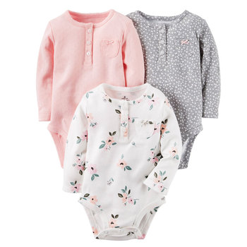 Baby clothes 100% cotton winter infant romper newborn baby clothes