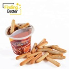 Shantou Food Halal Candy Chocolate Product Good Taste Finger Biscuit Cup Sweet Candy Chocolate