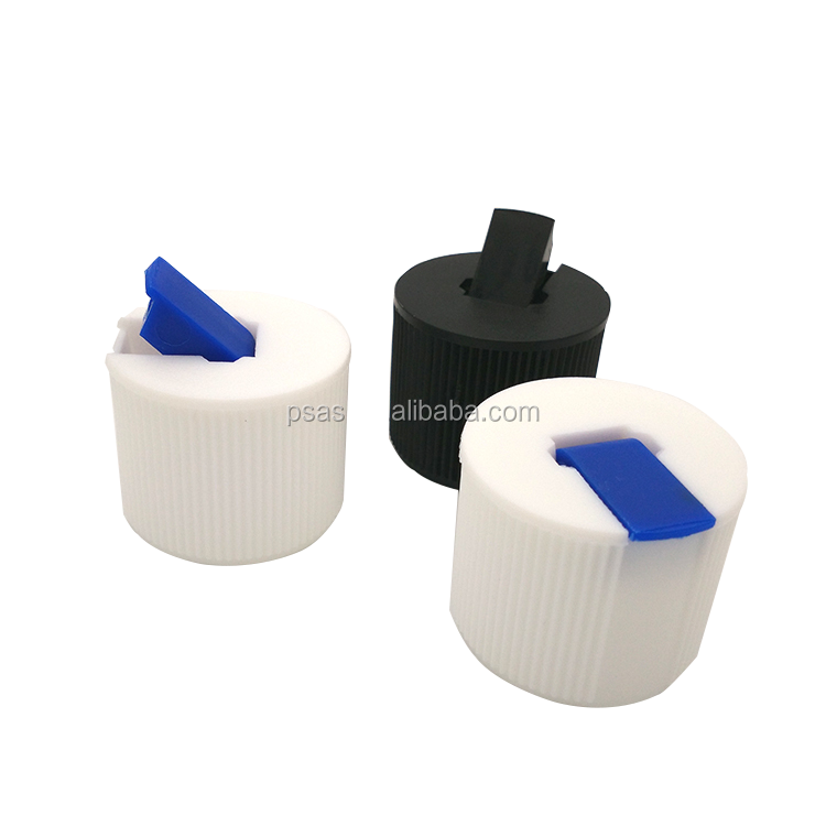 24,28 plastic turret spout cap long nozzle PP material battery cover for chemicals use