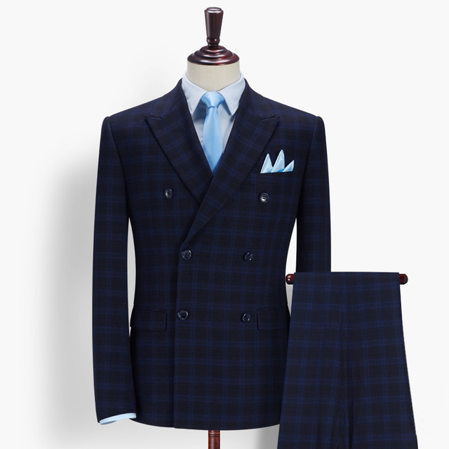 3fd3378b Blazers For Men Slim Fit For Man Double Breasted Suit