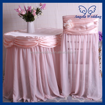Sensational Ch046A Cheap Wedding Chiffon Flower Decorated Universal Ruffled Blush Pink Chair Cover Buy Blush Pink Chair Cover Ruffled Wedding Chair Cover Buy Download Free Architecture Designs Scobabritishbridgeorg