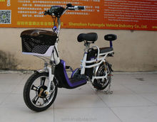 2016 Factory selling pedals 48V 350W green power a2b electric bike with cheap price for you (ML-LD7)