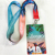 Custom brand cheap printed lanyards with work ID card holder lanyard