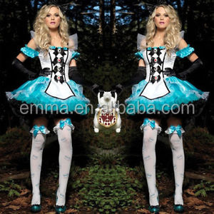 blauw genie jasmijn buikdanseres prinses arabian nights fancy dress kostuum bw3006