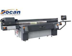 2.5m*1.8m Docan showcase kits large format uv printing machine with Ricoh Gen5