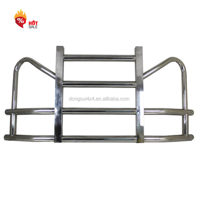 Factory America heavy duty truck deer grill guard volvo vnl parts big truck parts front bumper for freightliner