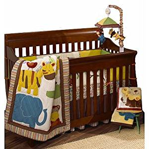 Get Quotations Cocalo Jungle Jingle Six Piece Crib Set By