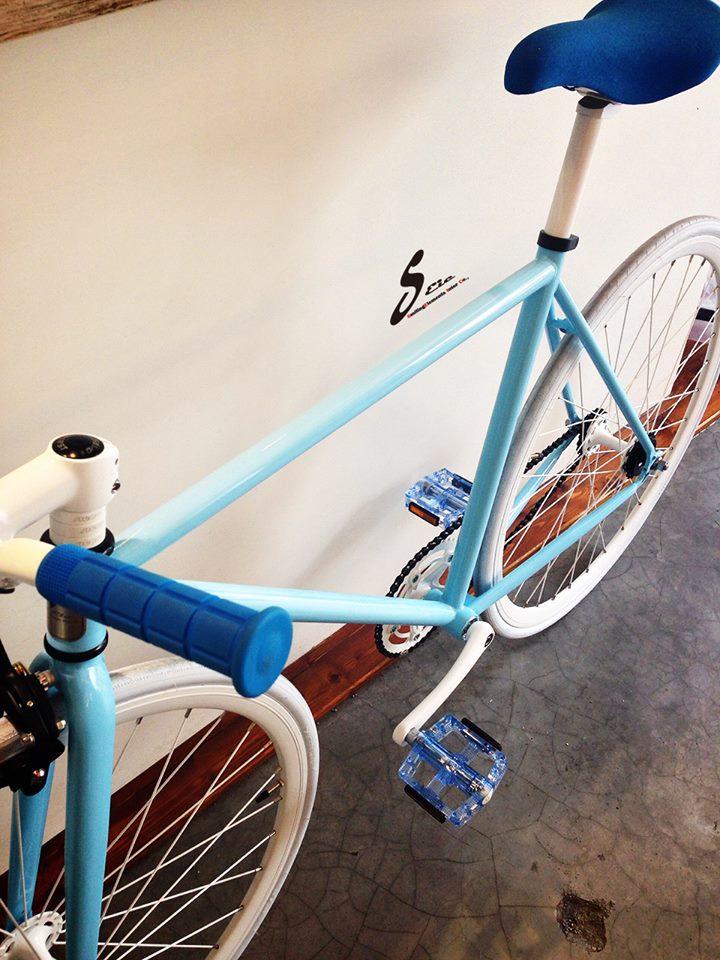 700c Blau Fixie Rahmen Taiwan Fahrradteile Festrad Fahrrad - Buy ...