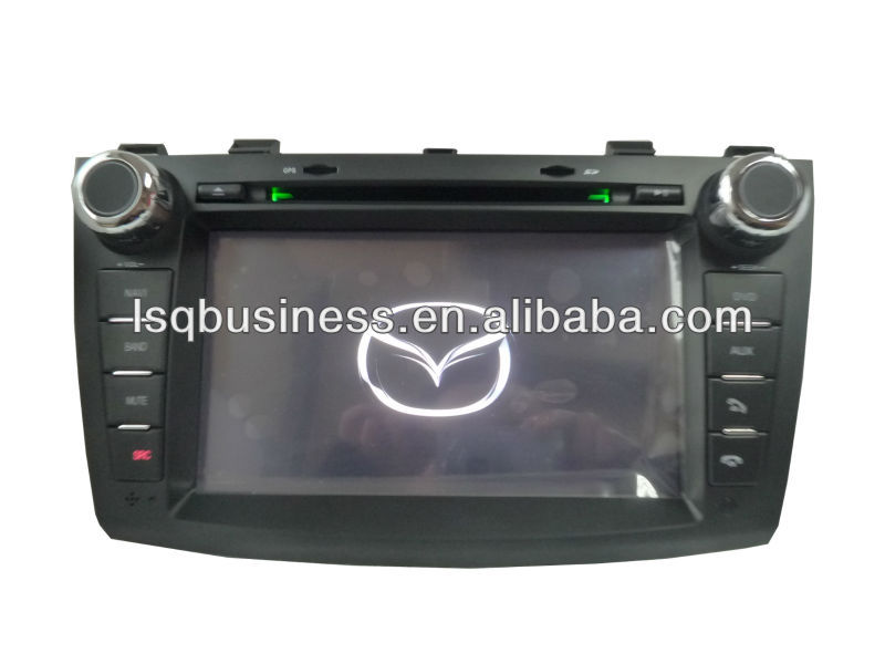 Car stereo for MAZDA 3 accessories with car DVD player GPS Bluetooth Radio fm 3G MP3 player,ST-8934