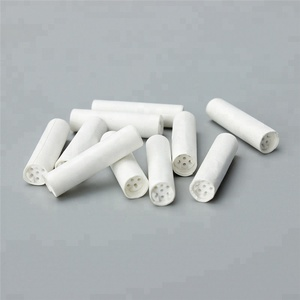 Wholesale active carbon filter tobacco smoking pipe rolling 7mm ceramic filter