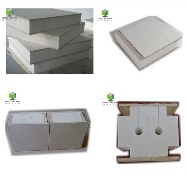 Mgo surface structural insulated panel for prefabricated for Sip panels buy online