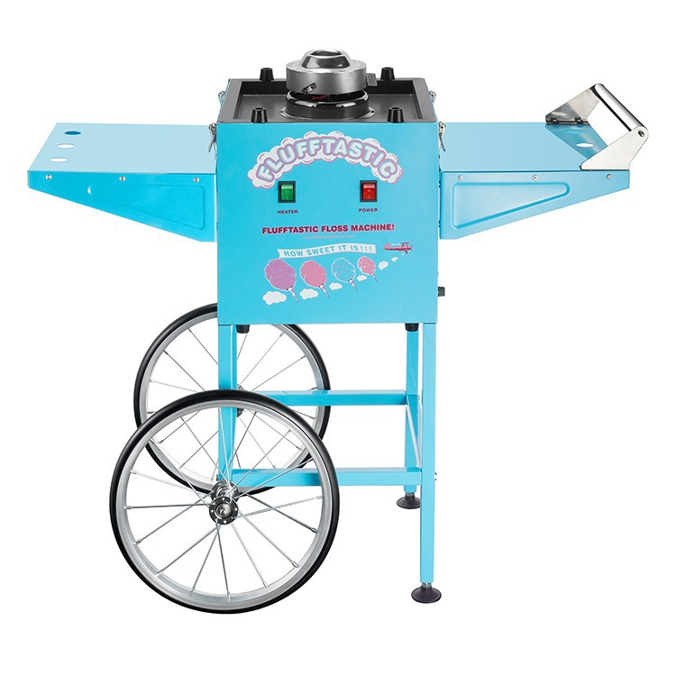 Cotton Candy Machine Flufftastic Floss Maker With Cart 6315 GNP