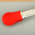 Christmas silicone food tongs snow shape tongs