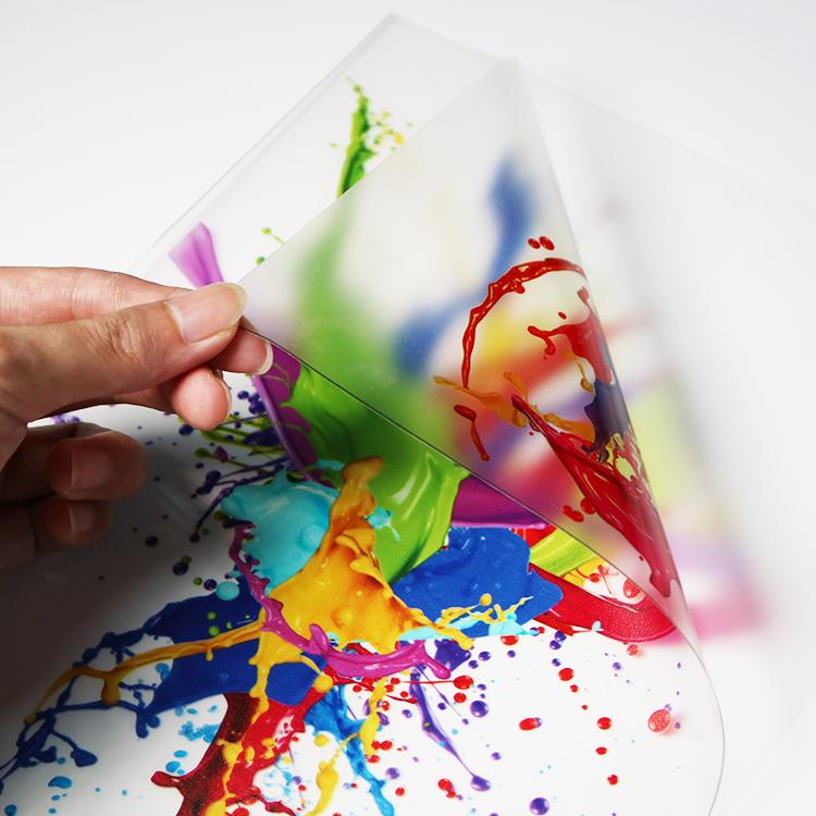 Custom Printing Waterproof Self Adhesive Vinyl PVC Transparent Window Sticker