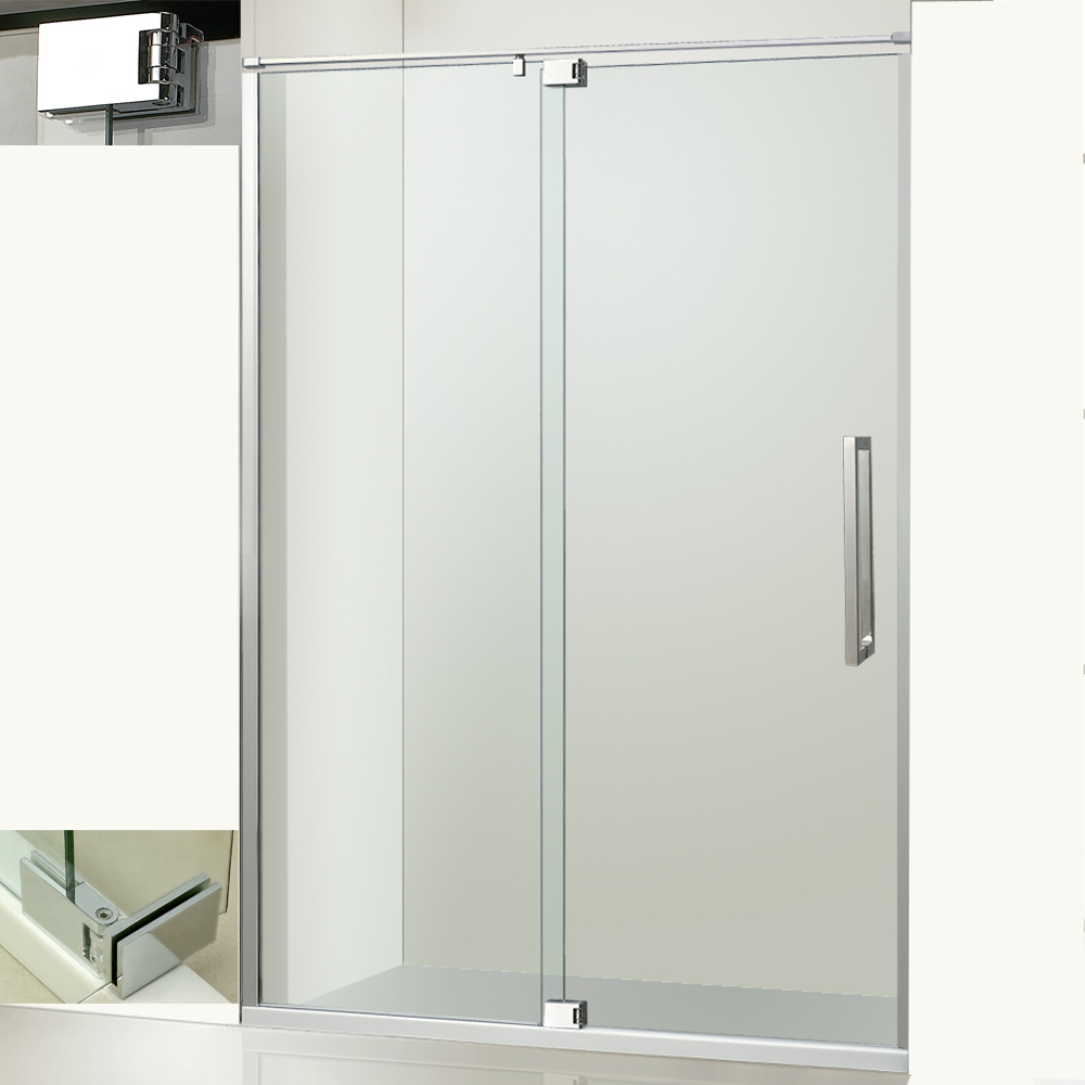 Luxury Pivot Hinge Glass Shower Door