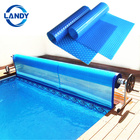 500 m / 400 micron bubble foil solar outdoor swimming pool covers,solar swimming pool cover 500 micron outdoor pool covers
