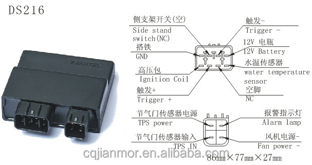 Motorcycle Parts Cdi Unit For Ymh Lc135: Yamaha Lc 135 Wiring Diagram At Gundyle.co
