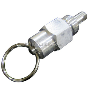 stainless steel spring loaded pin, lock pin latch