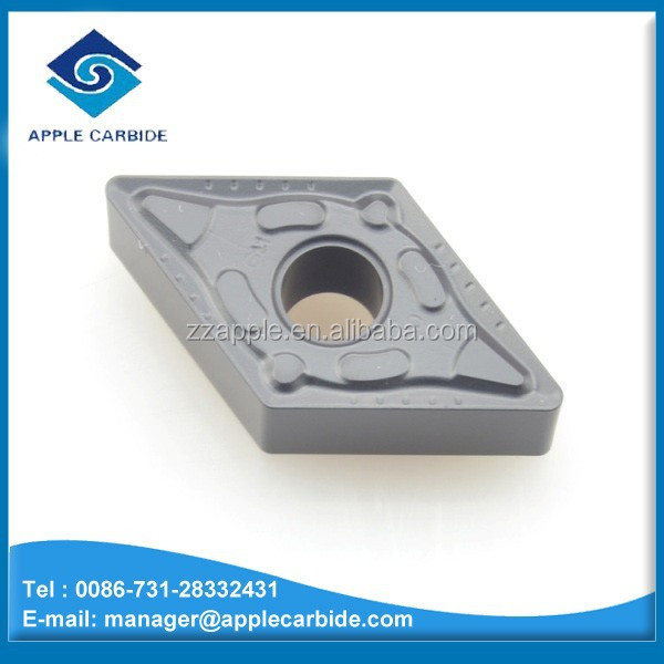 Top Quality Tungsten Carbide Turning Inserts/ Cemented CarbideTurning Inserts DNMG Series for cutting cast iron and steel