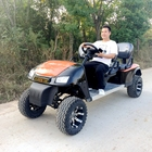 New product 4 seat golf cart with rear flip seats