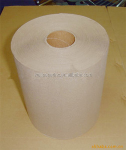 8''*600ft Brown Industrial Hardwound Hand Paper Roll towel