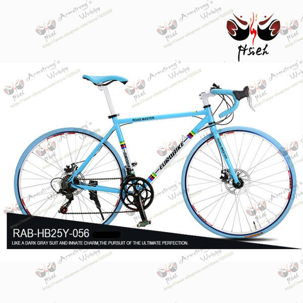 2014 new design sheep horn aluminum alloy frame 14speed road racing bicycle