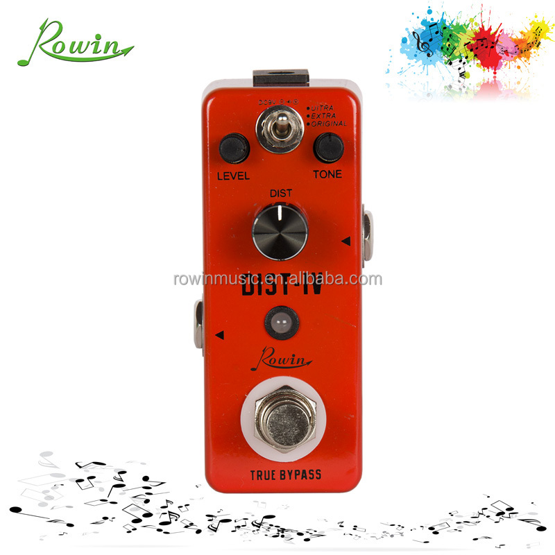 Distortion guitar multi effects pedal LEF-301D for guitarra pedal